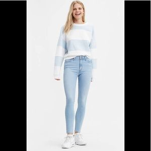 Levi's 721 HIGH RISE SKINNY WOMEN'S JEANS size 30
